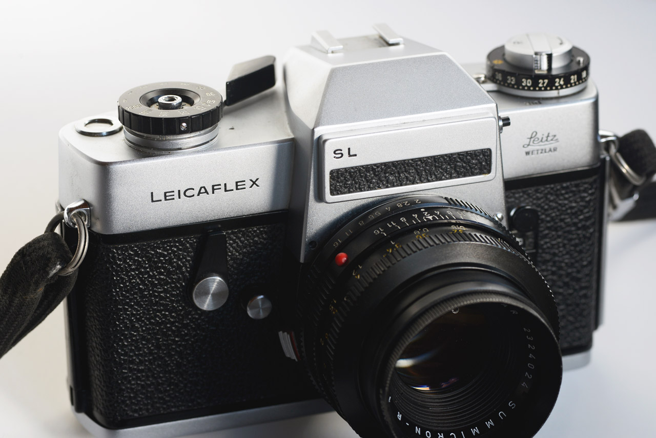 Leicaflex SL Analogkamera Eva Gieselberg