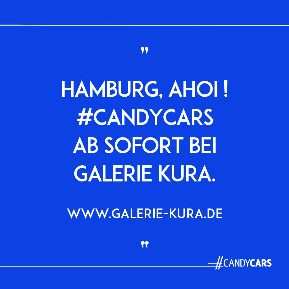 candy cars eva gieselberg galerie kura hamburg