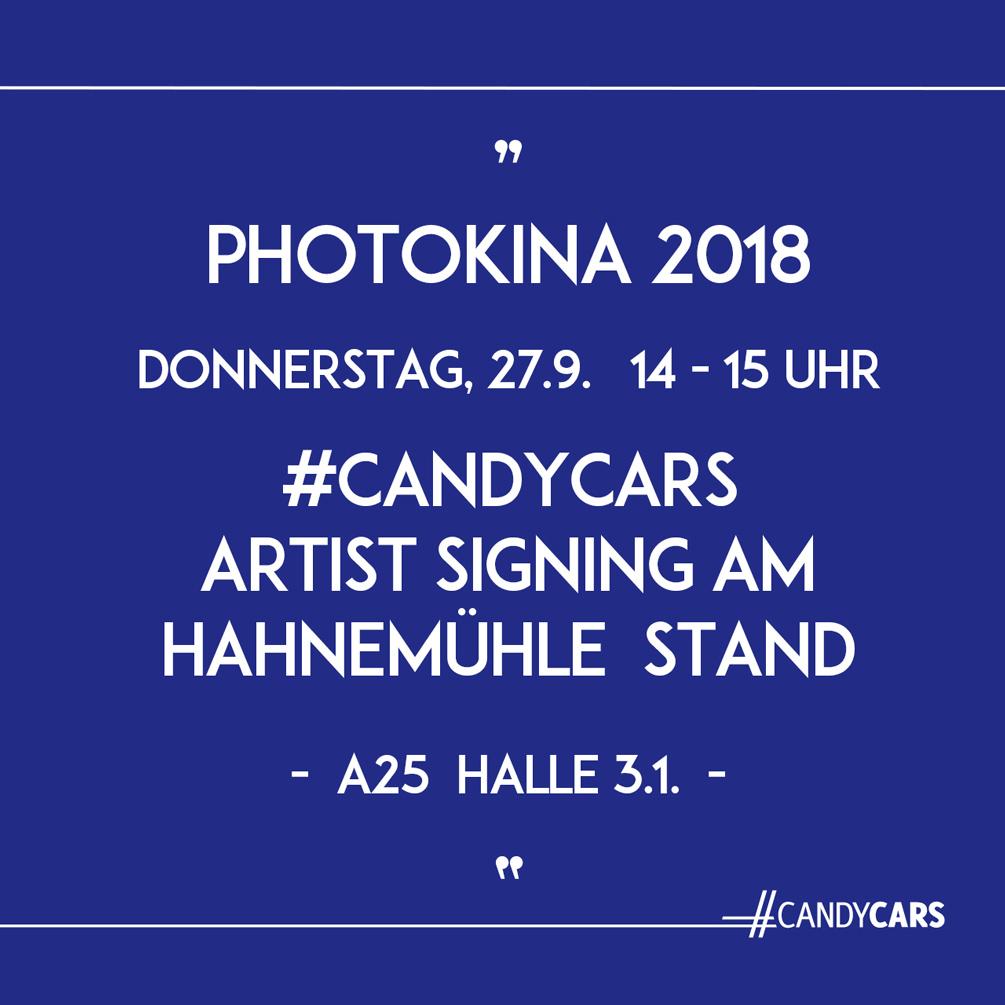 CANDYCARS Photokina Eva Gieselberg Hahnemühle