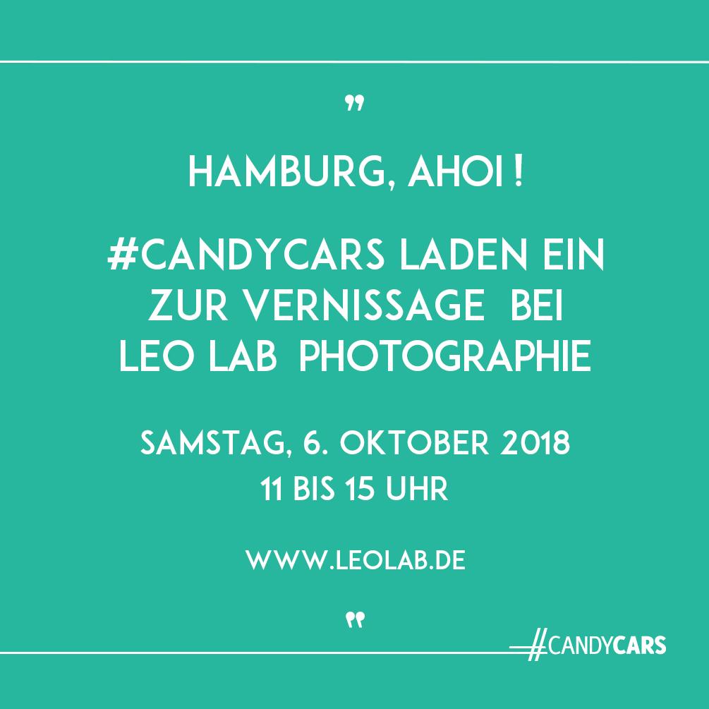 Ausstellung LEO LAB Candycars Eva Gieselberg