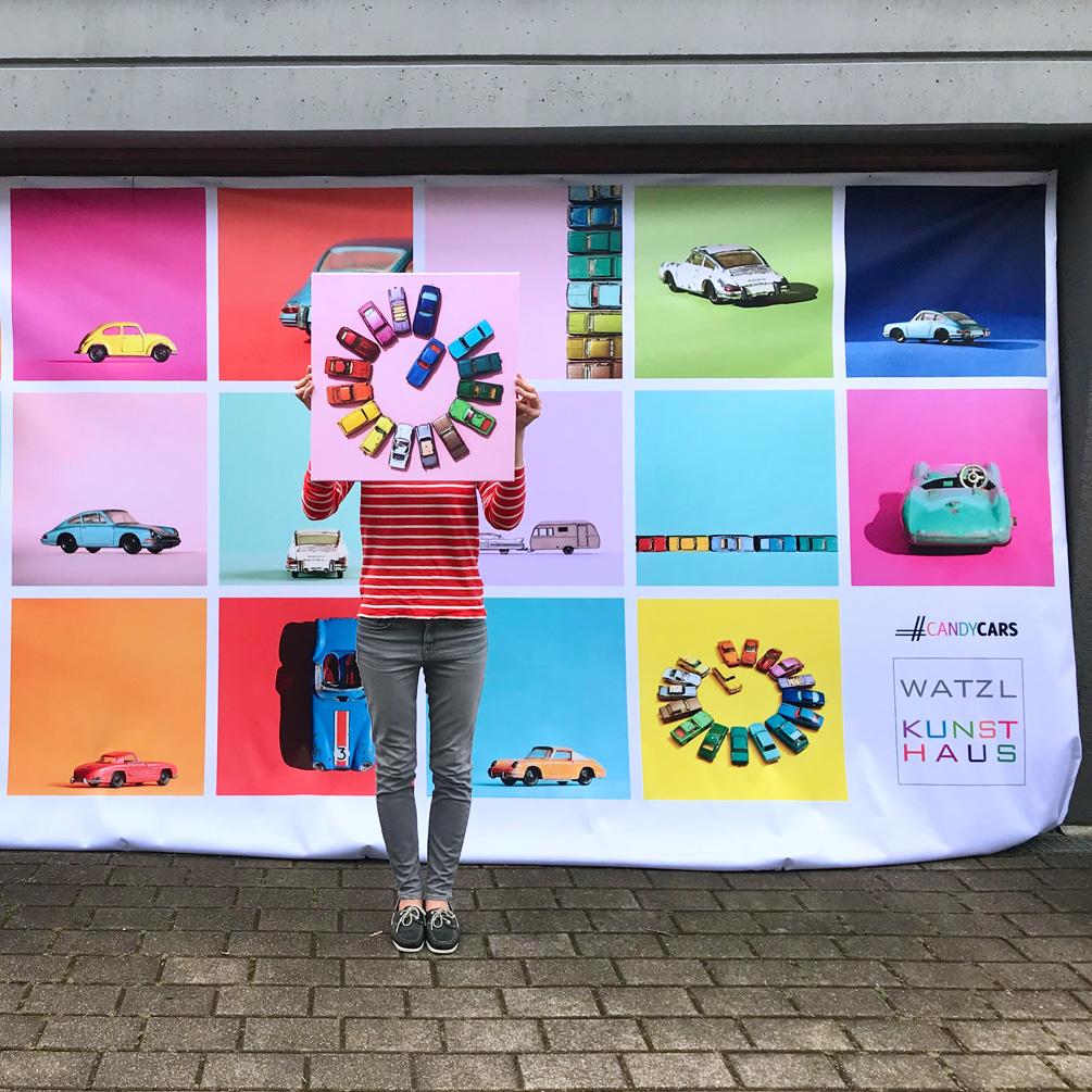 Kunsthaus Watzl Ludwigsburg Candycars Spielzeugautofotografie