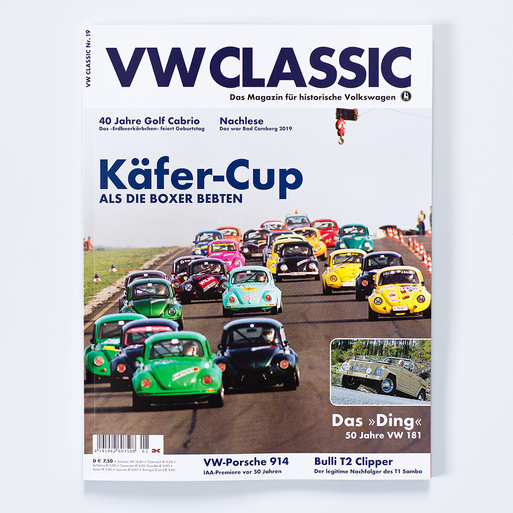 Bericht VW CLASSIC Magazin Eva Gieselberg Kunst